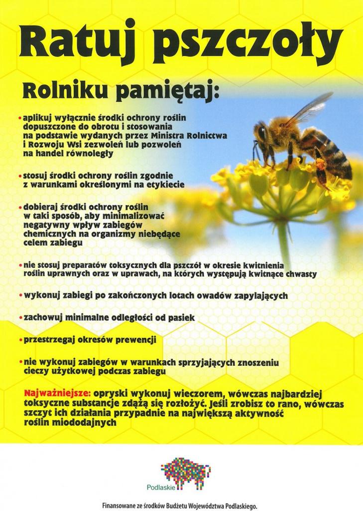 8c9b7688250d53 Ratuj pszczoły